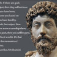 Stop philosophizing about what a good man is and be one. The Roman emperor (161 – 180 AD) Marcus Aurelius wrote this in his personal notes. Considered the last of […]