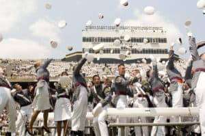 West Point Hat Toss