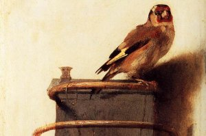 The Goldfinch, Carel Fabritius 1654