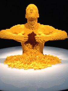 Lego yellow guts man