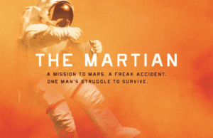 Andy Weir's science fiction novel, The Martian