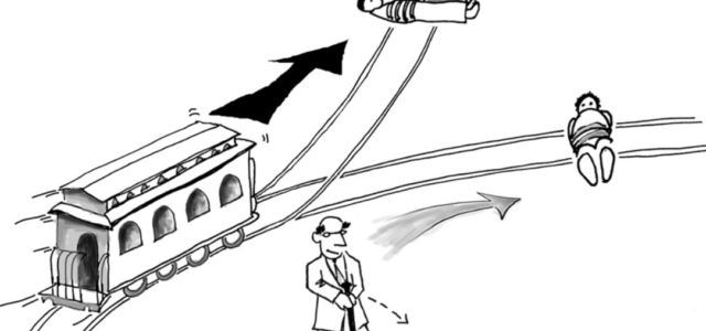 AVAILABLE ON PODCAST SPOTIFY ITUNES ANCHOR.FM THE TROLLEY PROBLEM The Trolley thought experiment, first put forth by the philosopher Philippa Foot, pits two schools of moral thought against each other: […]